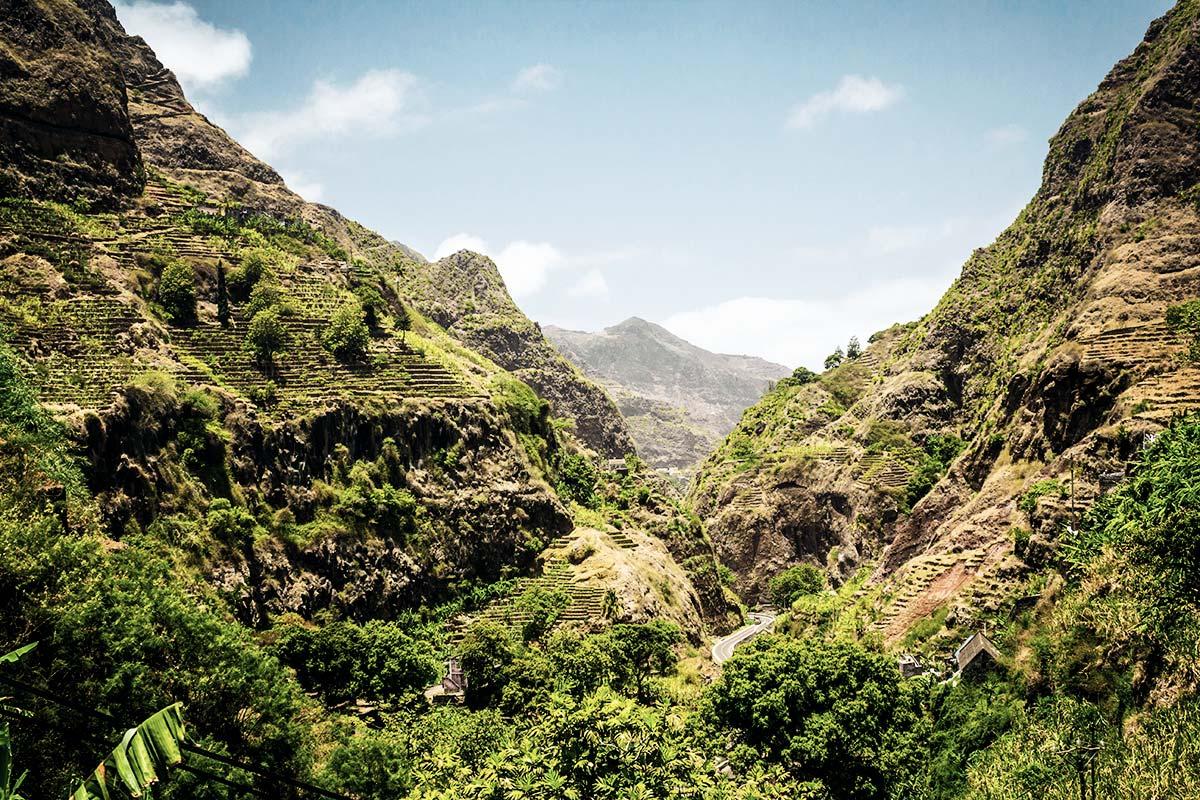 Auf Santo Antao Kap Verde