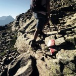 Fels beim Wandern