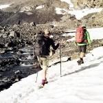 Schneefelder Wandern