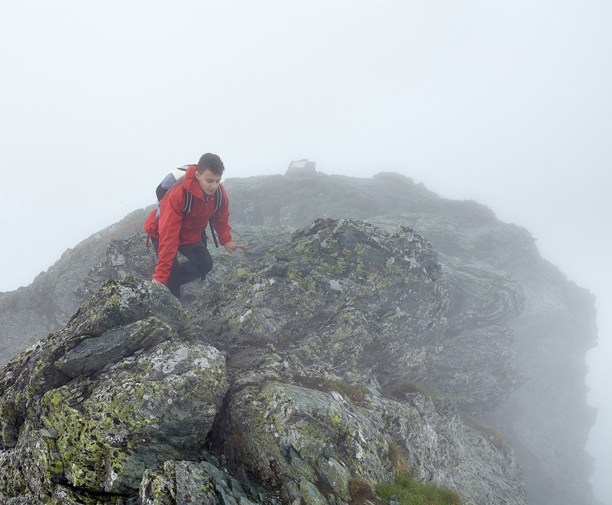 Gewitter in den Bergen