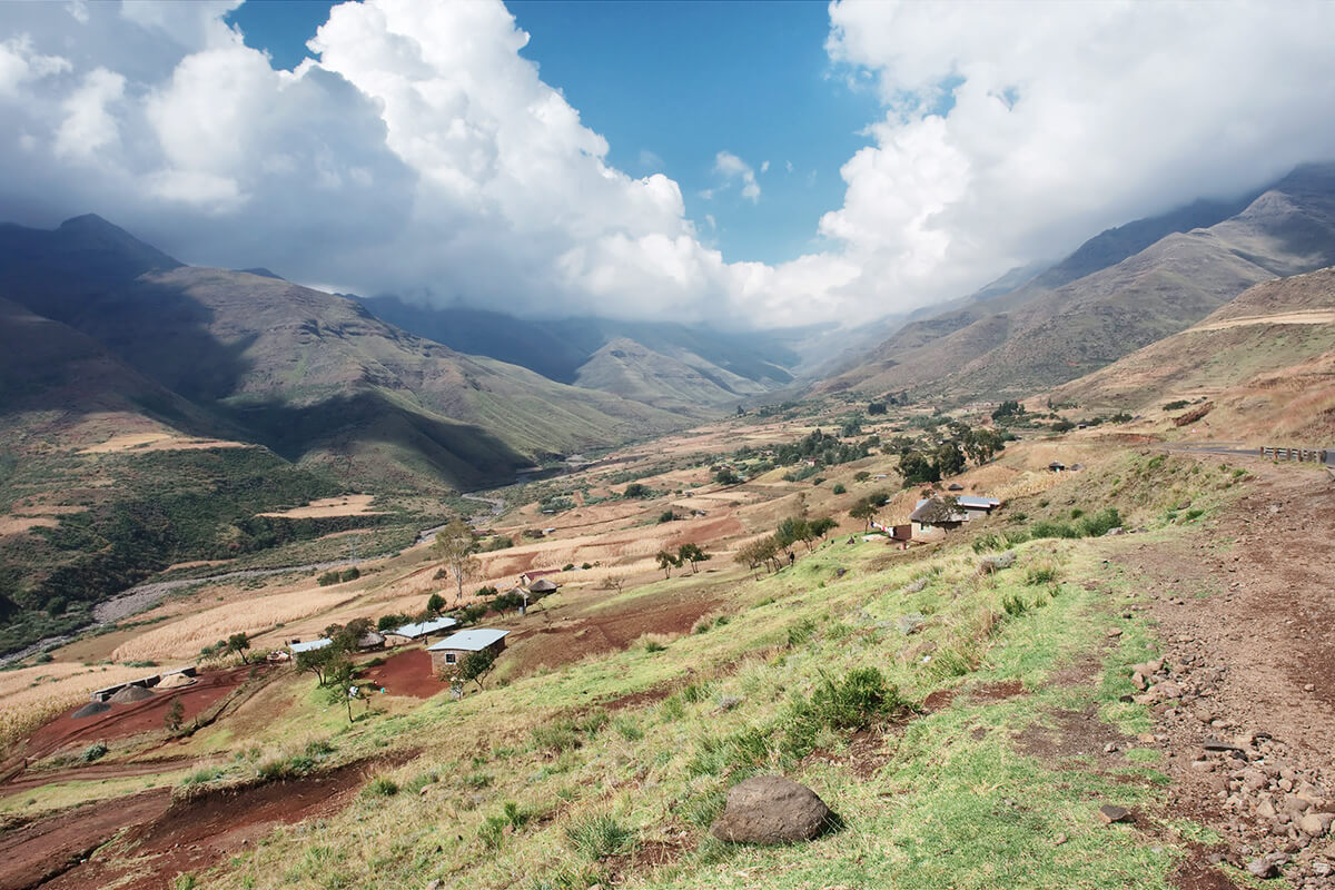 Natur in Lesotho