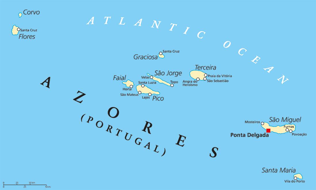 Wanderreise Azoren