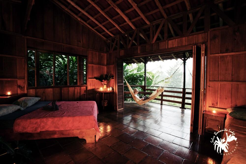 Die Selva Bananito Lodge in Costa Rica: Mitten im Urwald gelegen und nur mit Jeep über einen holprigen Weg mit Flussdurchquerungen zu erreichen, findet man diesen besonderen Platz zum Entspannen und erlebt die Natur hautnah.