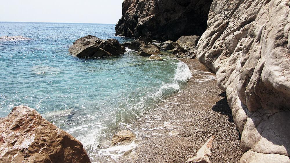 malerische Küstenabschnitte in Kroatien