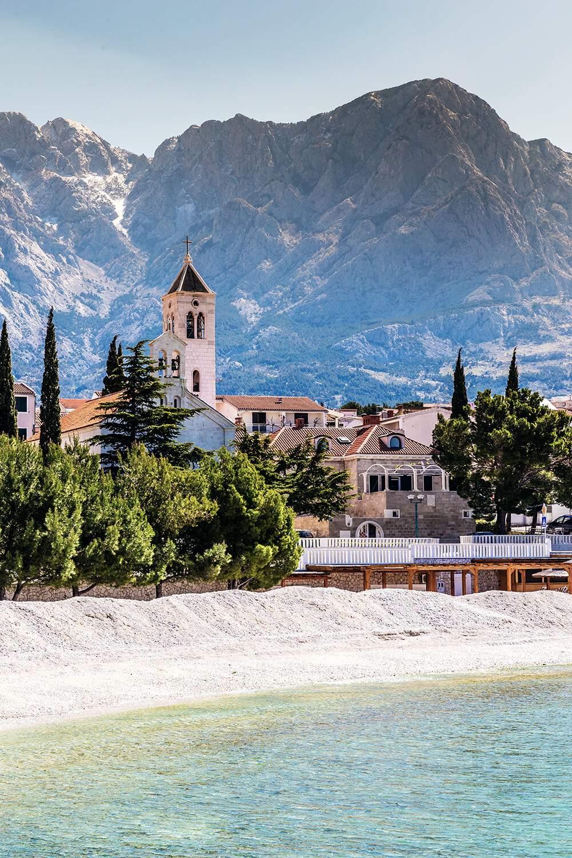 Die Kirche St. Nikola in Dalmatien