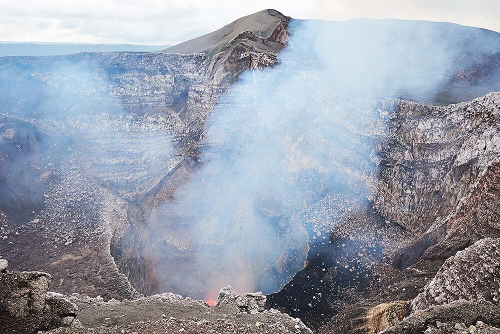 Masaya Vulkan Nicaragua