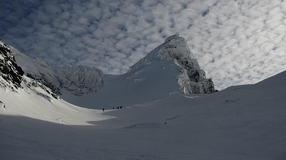 Mächtige Gipfel in Norwegen