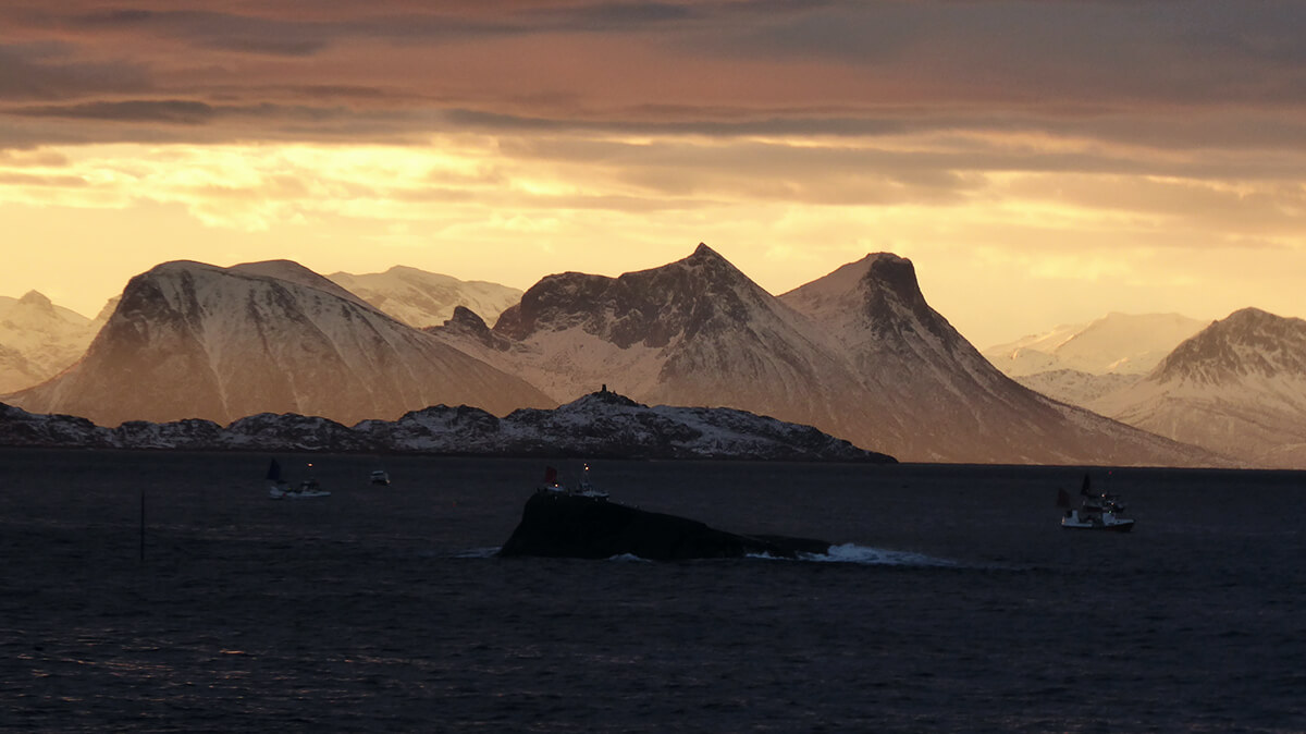 Norwegen im Winter
