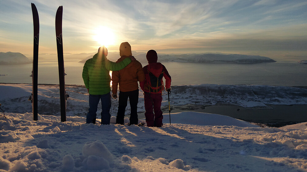 Für diese Aussicht lohnt sich eine Reise nach Norwegen