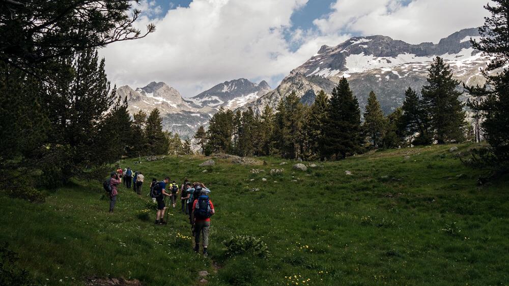 Wanderung zum Refugio de Estos