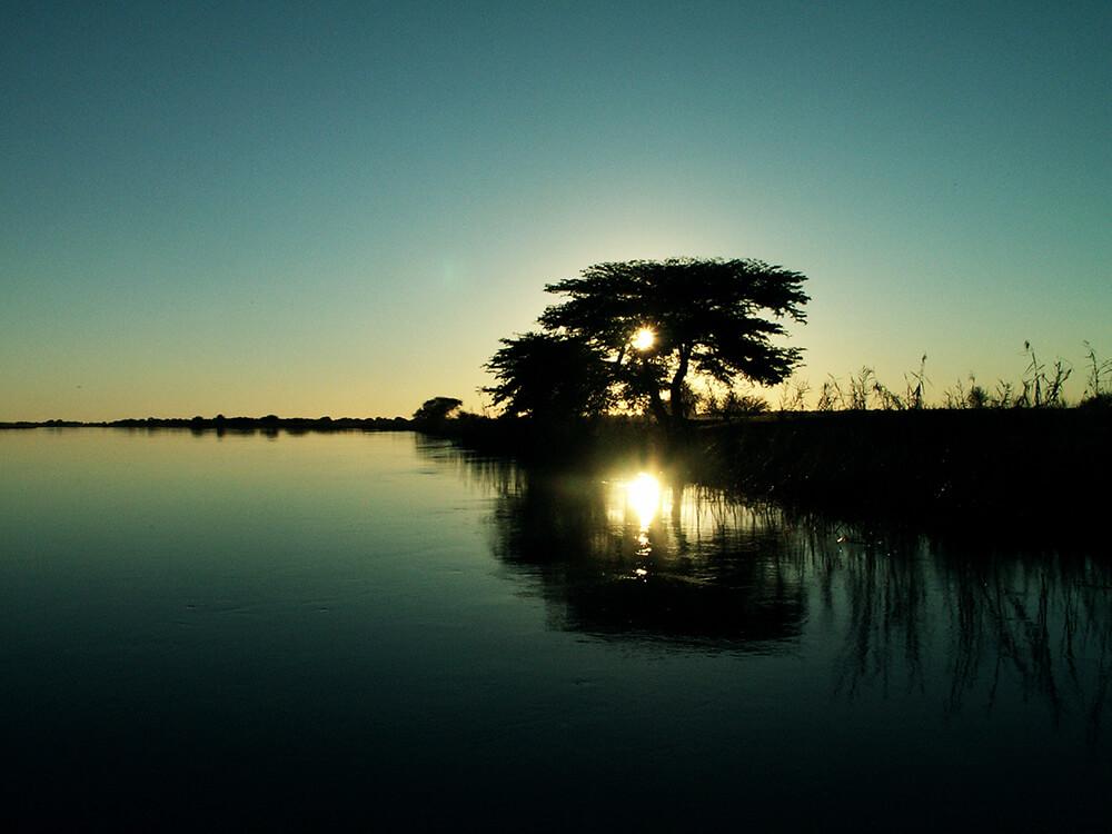 Landschaft in Botswana