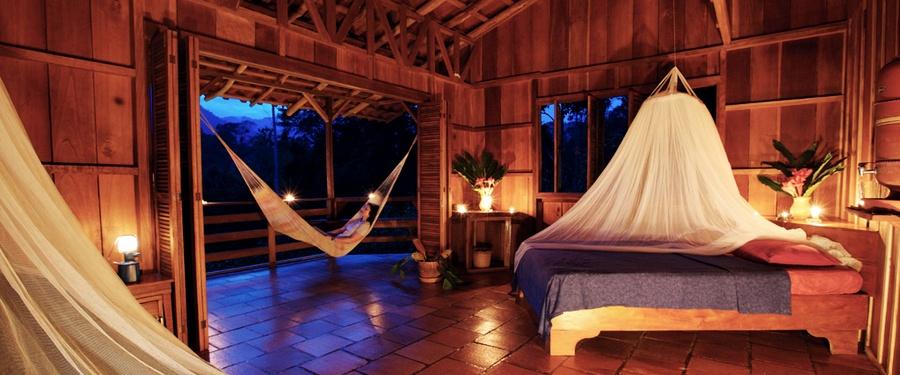 Unterkunft Selva Bananito Lodge Costa Rica