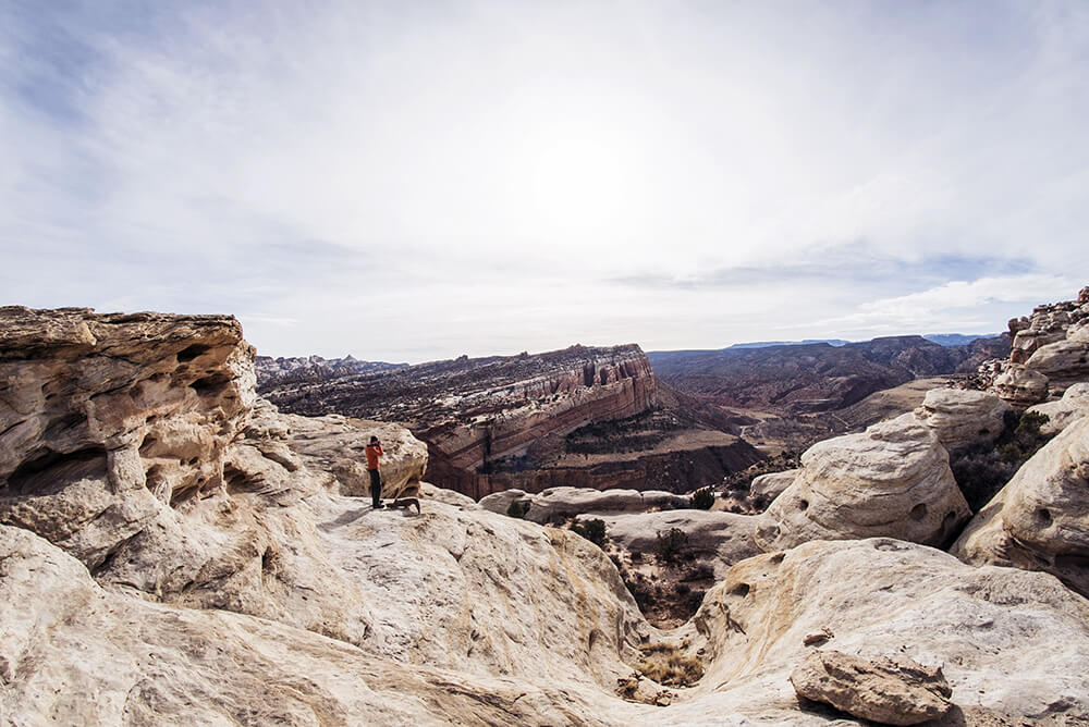 Wandern capitol-reef-national-park