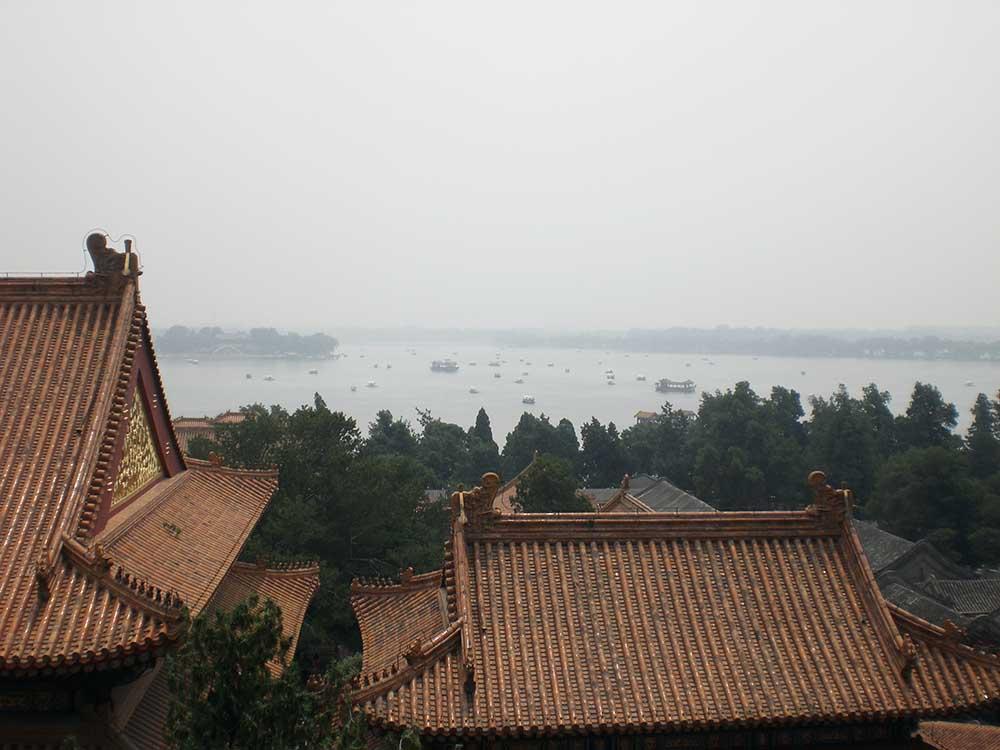 """Die verbotene Stadt in Peking. Sie befindet sich im Zentrum von Peking. Der """"einfachen Bevölkerung"""" war frühere der Zutritt verwehrt, daher auch der Name."""