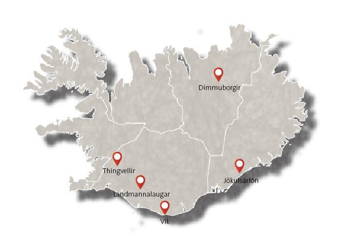 Island-karte