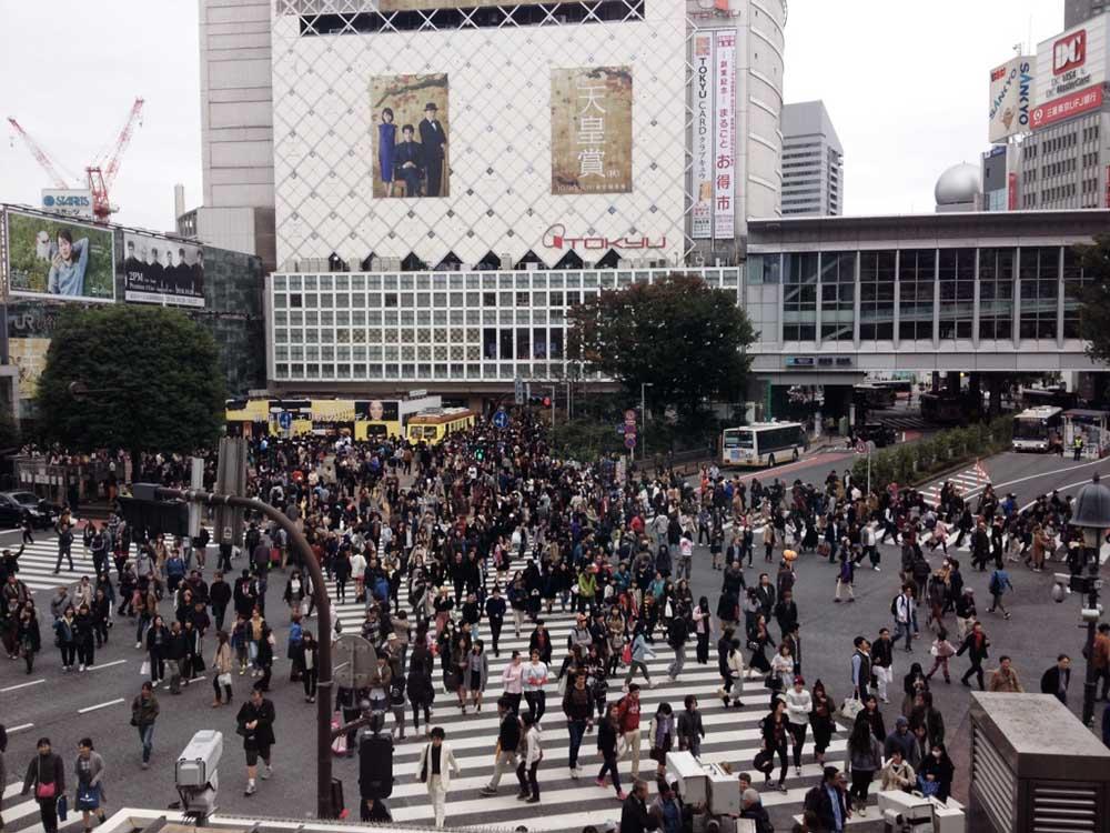 Shibuya Kreuzung Japan