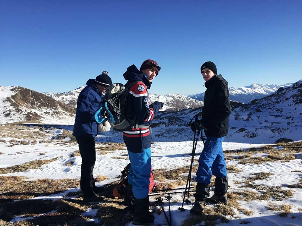 Wandern Tirol Winter