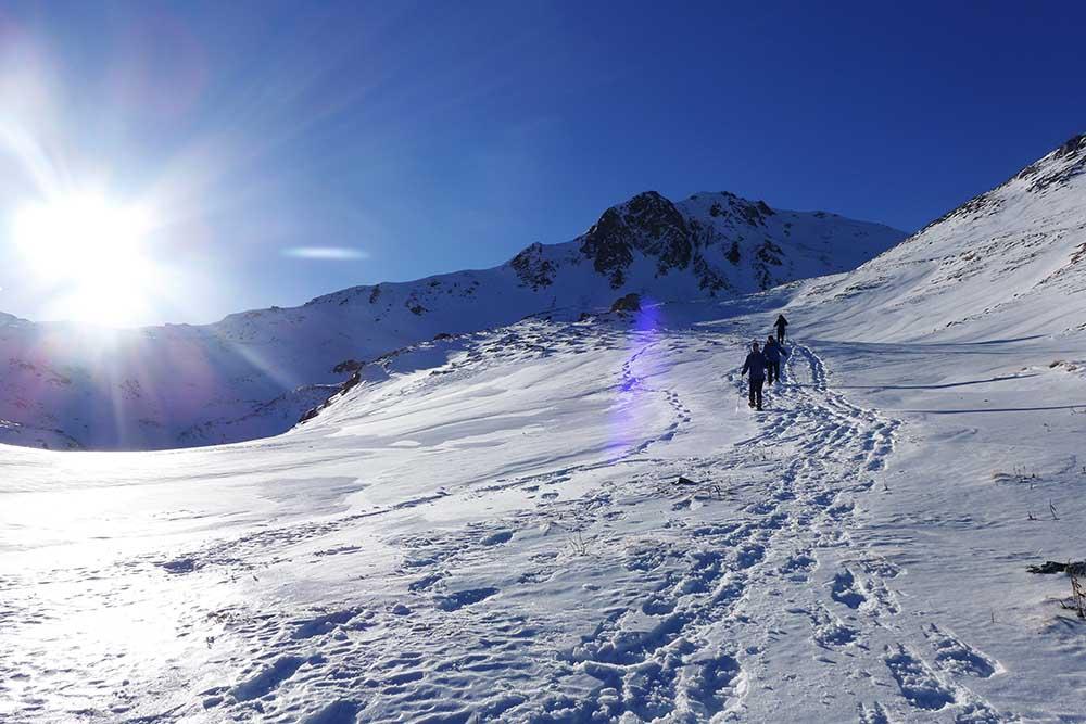 Geführte Schneeschuhreise Tirol