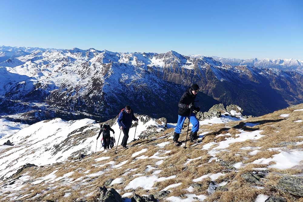 Schneeschuhwandern Österreich