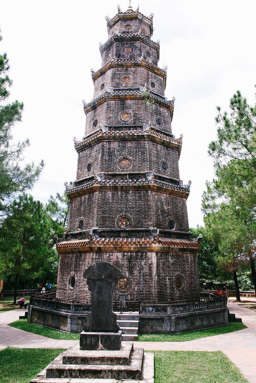 Thien Mu Pagode - das höchste religiöse Bauwerk in Vietnam