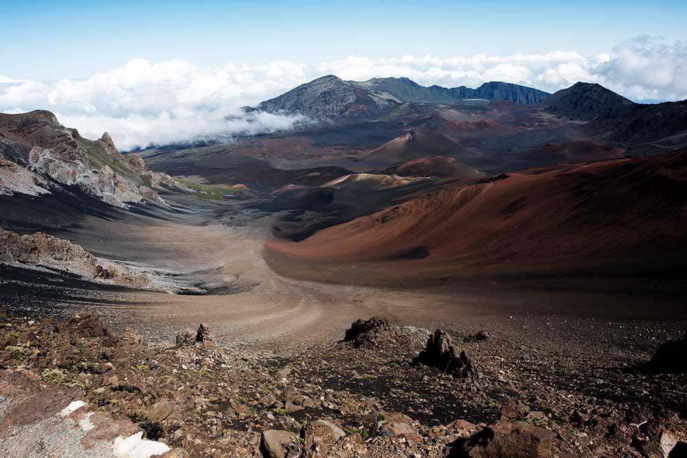 Wandern im Nationalpark auf Hawaii
