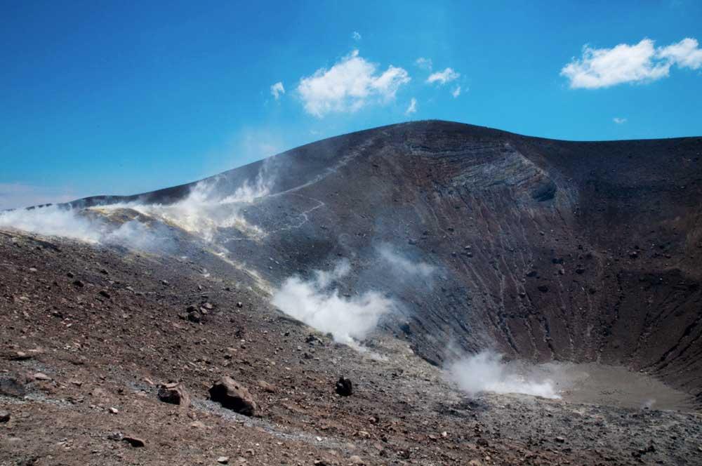 Vulcano in Sizilien