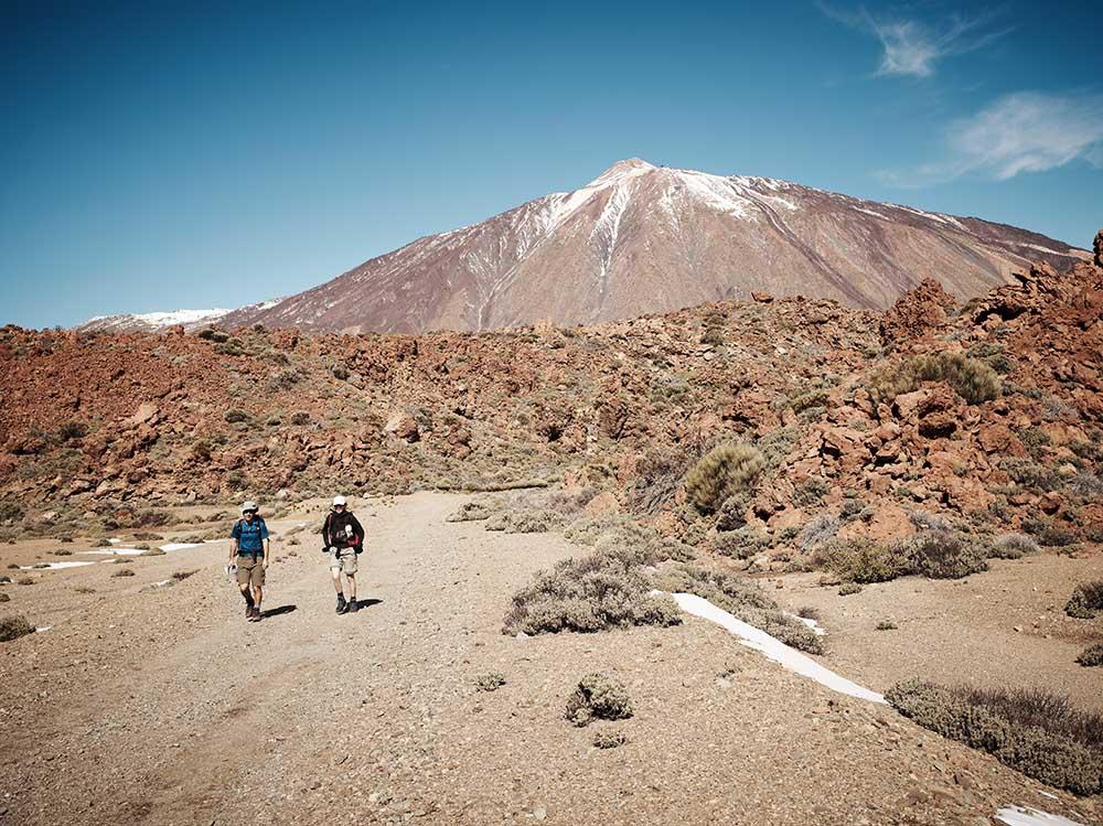 Auf dem Weg zum Gipfel