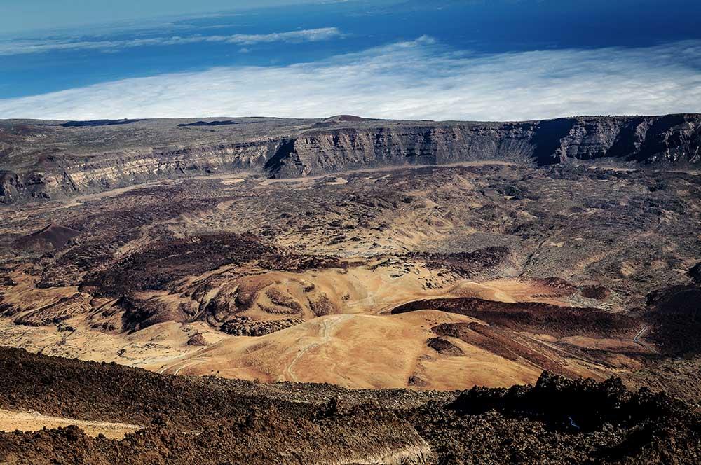 Caldera des Pico del Teide