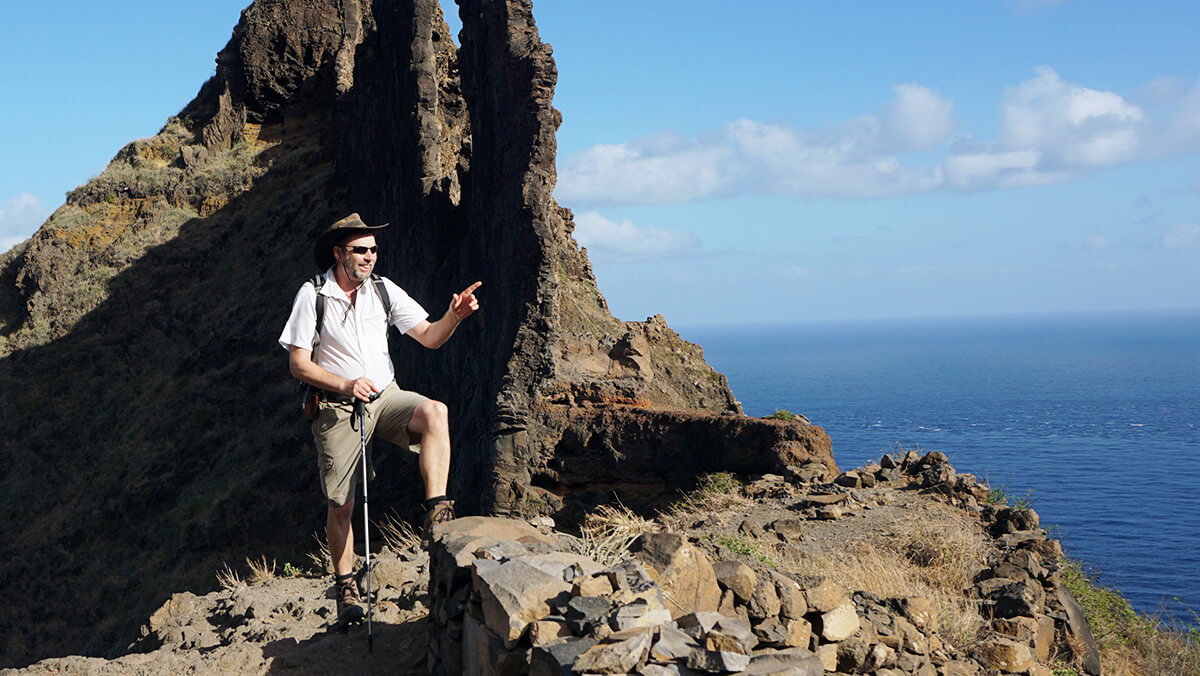 ASI Wanderführer Hermann Kuen auf Kap Verden