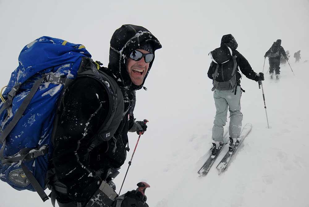 Skitourenreise Bekleidung