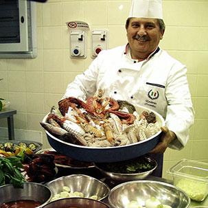 Koch mit Leib und Seele: Küchenchef Umberto