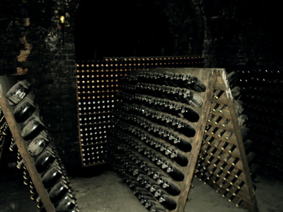 Zu Besuch in einer Champagner Kellerei
