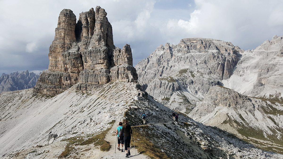Wanderer Dolomiten