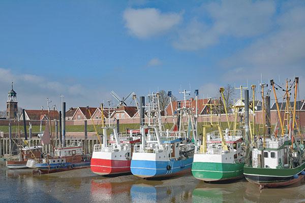 Fischerort Ditzum in Ostfriesland
