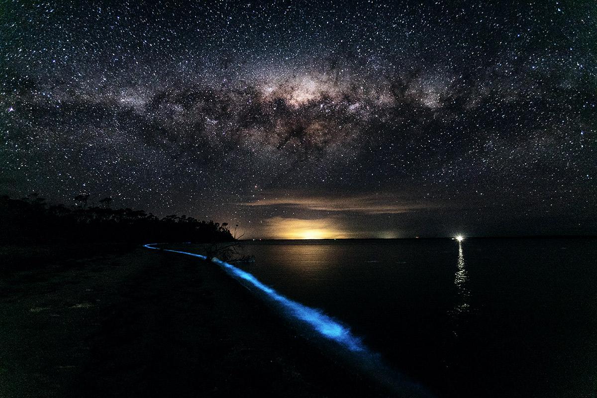 Meeresleuchten: Gippsland Seen Australien