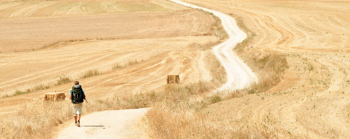 Wandern auf dem Jakobsweg