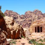 Wanderung durch Petra