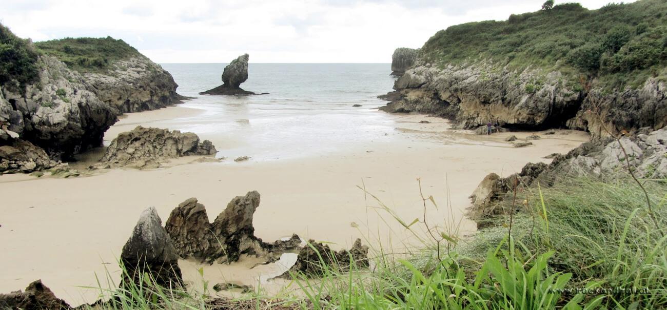 Strand an der Costa de Llanes
