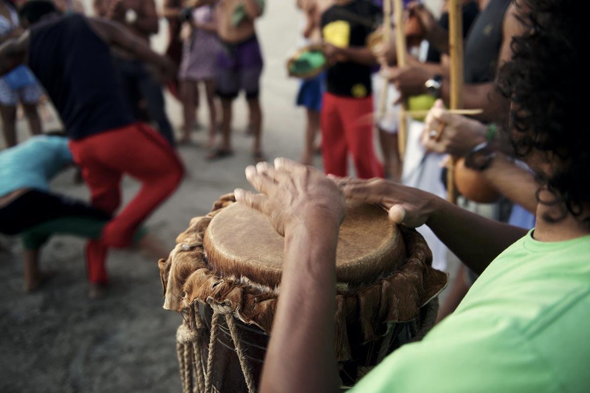 Capoeira auf den Kapverden