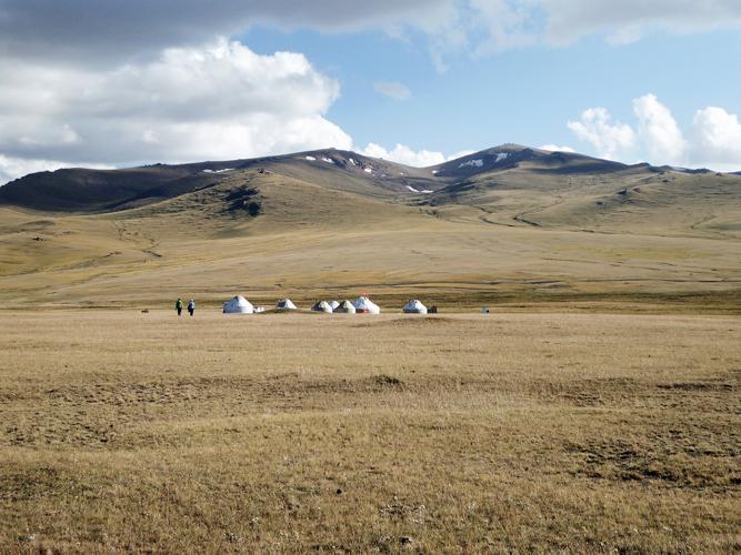 Kirgistan Camp