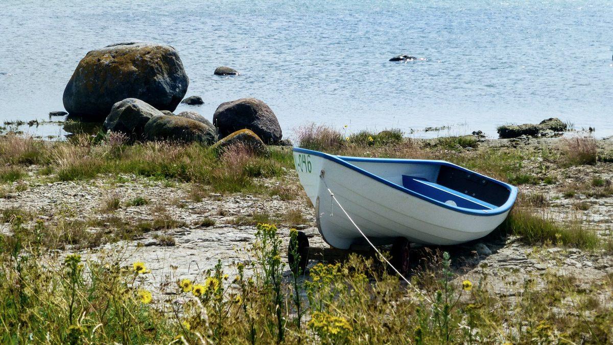Boot an Strand