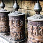 Nepalesische Mauerkunst