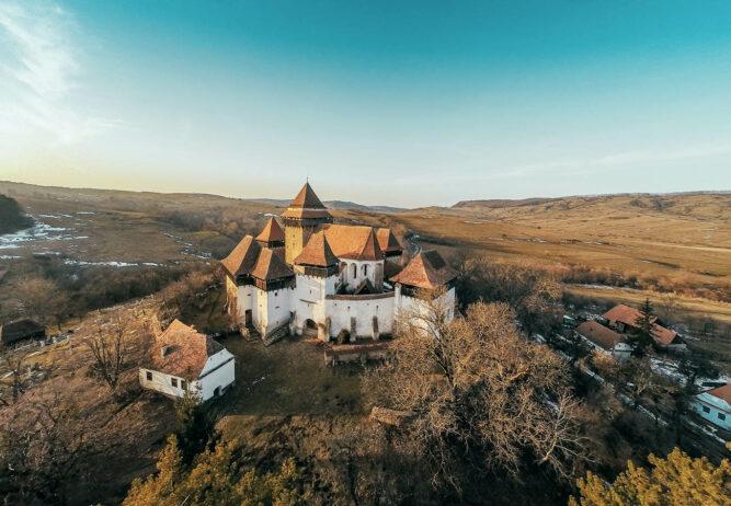 Burg in Siebenbürgen, Rumänien