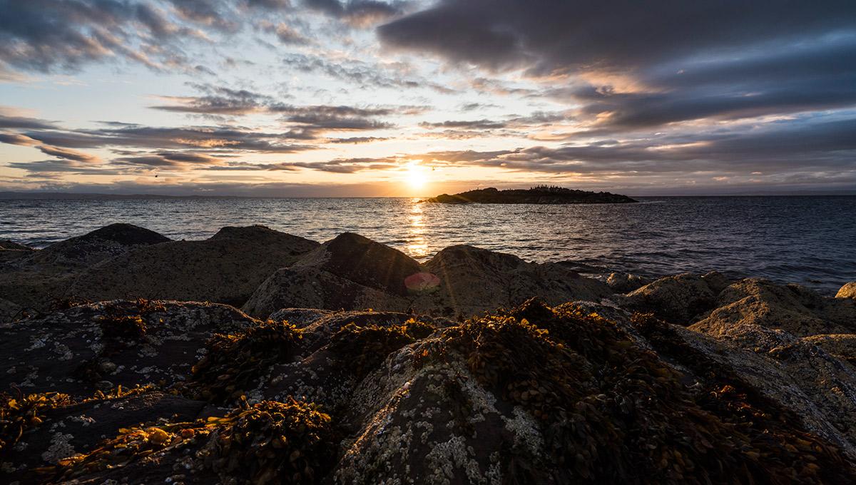 Sonnenaufgang auf Arran Island