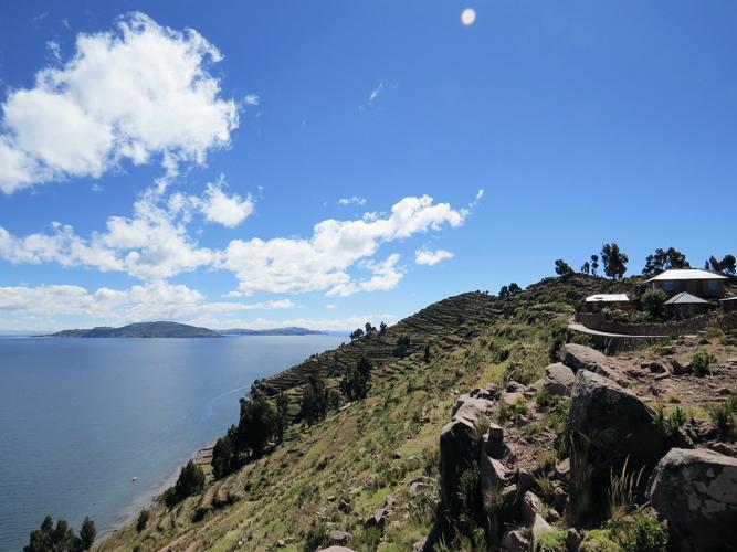 Ausblick Titicacasee