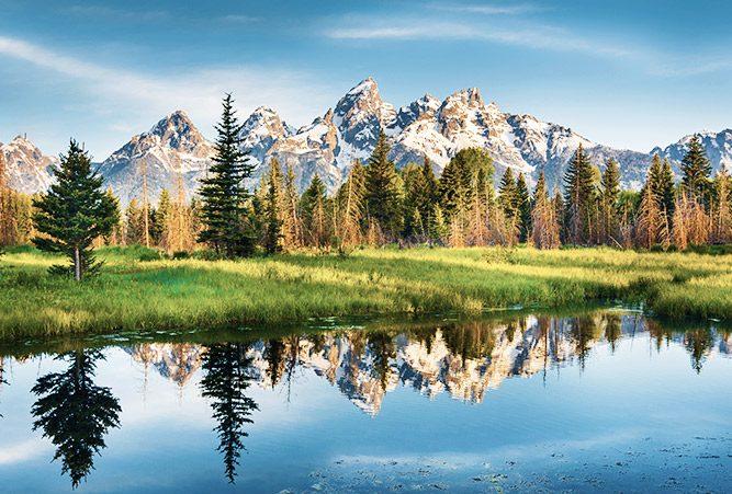Atemberaubende Landscape des Yosemite Nationalparks in den USA. © Shutterstock