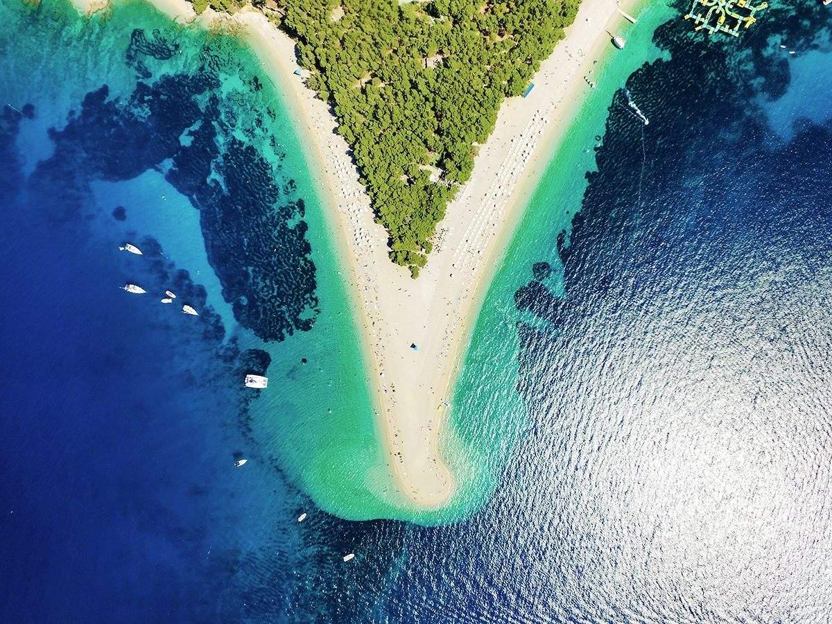 Landzunge Goldenes Horn im Mittelmeer
