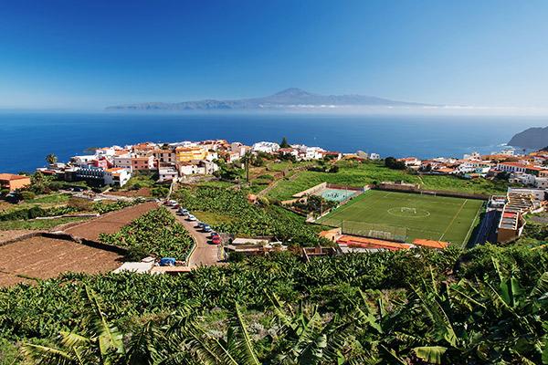 Dorf Agulo auf La Gomera