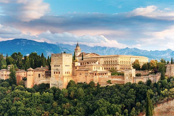 Alhambra, Granada Spanien