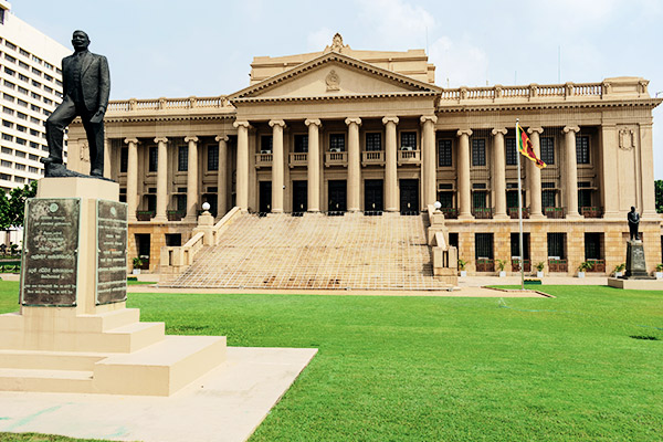Altes Parlament, Colombo